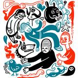 Funny Doodles Poster di  aggressor