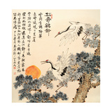 Asian Traditional Painting Kunstdrucke von  WizData