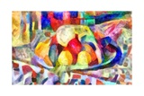 still life from colours,2017 Giclee Print by Alex Caminker