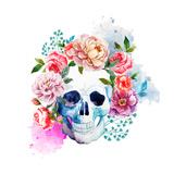 Skull Premium Giclee Print by  Zenina