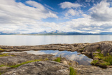 Calm Fjord in Northern Norway Photographic Print by  Lamarinx