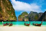Tropical Beach, Maya Bay, Thailand Fotografisk trykk av  DmitryP