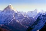 Himalaya Mountains Fotografie-Druck von Microstock Man