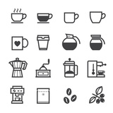 Coffee Icons Taide tekijänä  pking4th