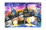 Town Prints by  DannyWilde