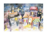 Town Premium Giclee Print by  DannyWilde