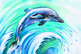 Dolphin Posters by  DannyWilde
