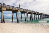 Pensacola Beach Fishing Pier, Florida Fotografie-Druck von  forestpath