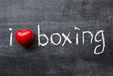 Love Boxing Kunstdrucke von Yury Zap
