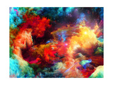 Cool Fractal Paint Premium gicléedruk van  agsandrew