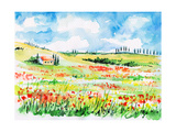 Tuscany Premium Giclee Print by  DannyWilde