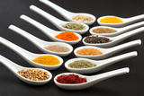 Twelve Spices Kunstdruck von Antonio Gravante