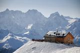 Cabane Du Mt Fort, Verbier, Valais, Switzerland Valokuvavedos tekijänä Catherine Ames