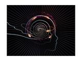 Intelligent Design Abstraction Premium gicléedruk van  agsandrew
