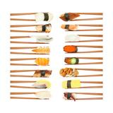 Sushi And Chopsticks Lámina por Rob Tek