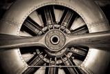 Aircraft Engine Fotoprint van The Guitar Mann