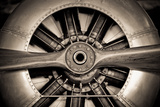 Aircraft Engine Lámina fotográfica por The Guitar Mann
