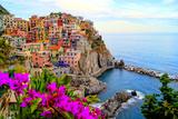 Cinque Terre, Italy Stampa fotografica di Jeni Foto