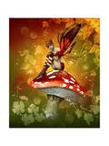 The Magic Of Autumn Lámina giclée prémium por Atelier Sommerland
