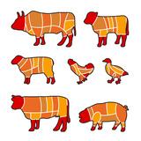 Cutting Meat Kunstdrucke von Goran Benisek