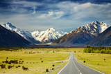 Southern Alps, New Zealand Fotografisk trykk av  DmitryP