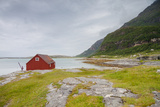 Seaside Building in Northern Norway Photographic Print by  Lamarinx