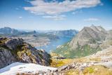 Fjord and Mountains in Northern Norway Fotografisk trykk av  Lamarinx