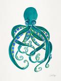 Octopus 2 Giclée-Druck von Cat Coquillette