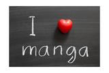 Love Manga Posters por Yury Zap
