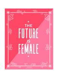 Future Female Giclée-Druck von Cat Coquillette