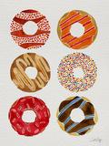 Half Dozen Donuts Giclée-vedos tekijänä Cat Coquillette