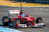 Scuderia Ferrari F1, Fernando Alonso, 2012 Fotografie-Druck von  viledevil