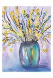 Forsythia Bouquet Plakater av Beverly Dyer