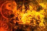 Buddha Art by  kentoh