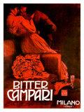 Bitter Campari, c.1921 Gicléetryck