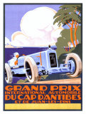 Grand Prix d'Antibes Giclee Print by Alexis Kow