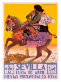 Sevilla Giclée-tryk af  Hohenleiter