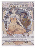 St. Louis, International Exposition Giclee Print by Alphonse Mucha