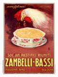 Zambelli-Bassi Giclée-tryk af Achille Luciano Mauzan