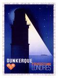Dunkerque-Folkestone-Londres Giclee-trykk av Adolphe Mouron Cassandre
