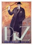 PKZ Giclee Print by Charles Loupot