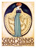Seiden-Spinner, Zurich Giclée-Druck