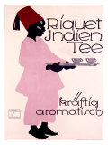 Riquet Indien Tee Gicléetryck av Ludwig Hohlwein