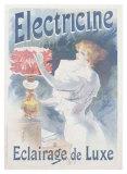 Electricine Giclee Print by Lucien Lefevre