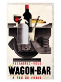 Wagon Bar Giclee Print by Adolphe Mouron Cassandre