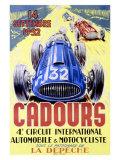 Cadours Circuit International Lámina giclée