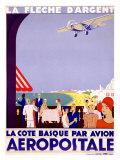 La Fleche d'Argent, Aeropostale ジクレープリント