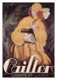 Cailler-Schokolade Giclée-Druck von Charles Loupot