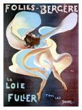 La Loie Fuller Lámina giclée por  PAL (Jean de Paleologue)