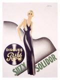 Suzy Solidor Giclée-Druck von Paul Colin